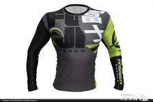 Today on MMAHQ Fuji Urban Rashguard - $35